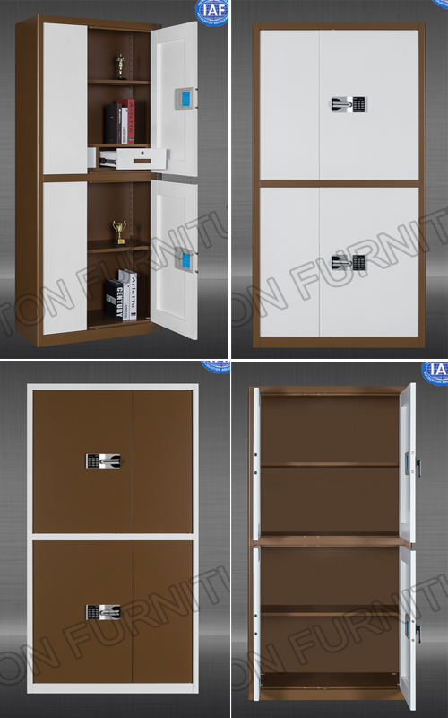Metal KD Structure Filing Cabinet with Electrical Code