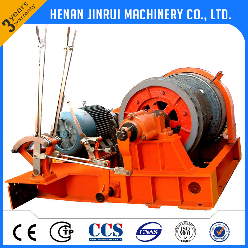 JKL handle operation free falling electric winch