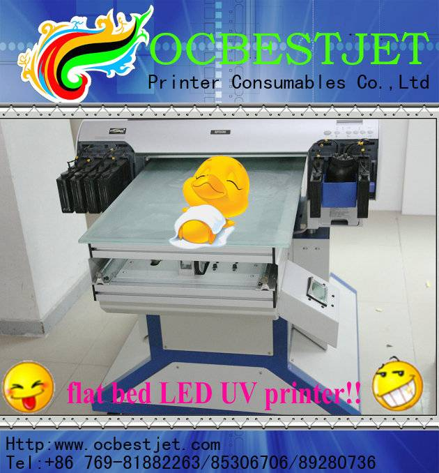 High Speed Digital UV Printer with The Printing Head for Epson 4880 UV printer