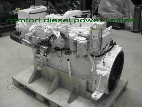 Cummins 6BT,6BTA marine engine, 150HP and 180HP available, suitable for fish boats in all seasons.