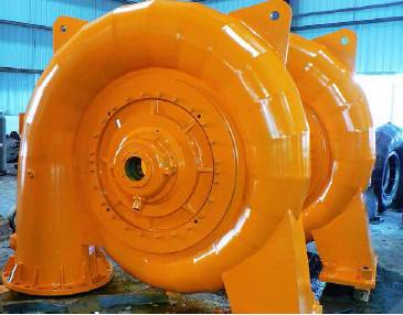 High Efficiency Water Turbine/ Francis Turbine for Hydroelectric Power Plant