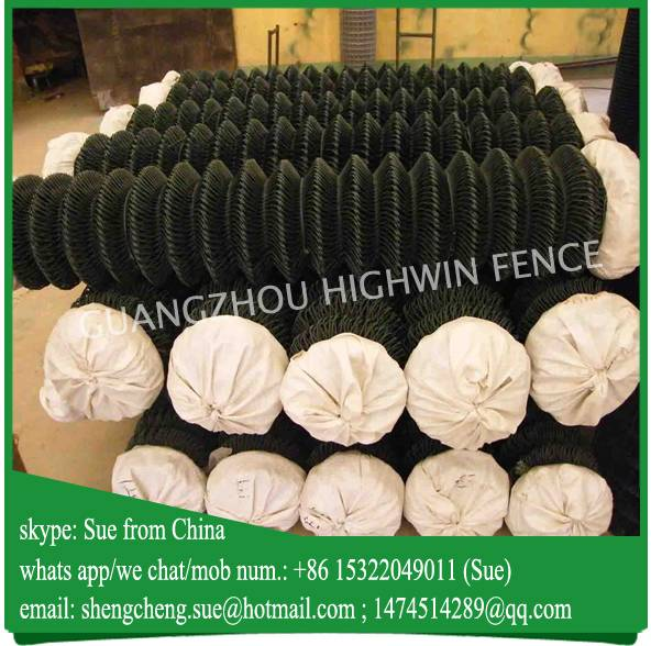 10m roll cheap farm used chain link fencing for africa