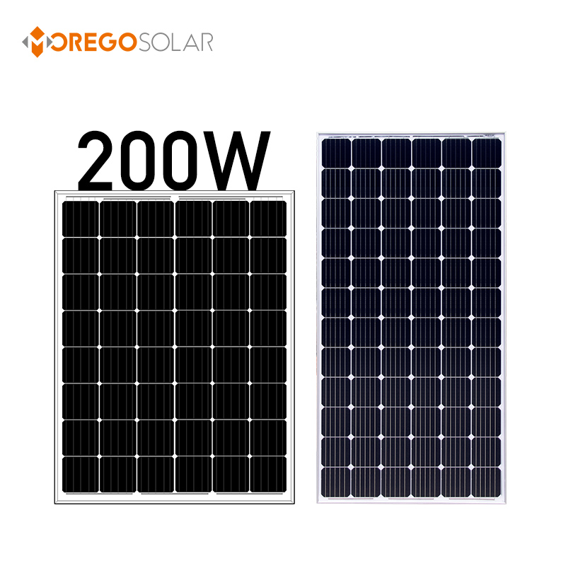 Moregosolar Portable solar led panel germany 24v 100w 100w 150w 200 watt panel solar