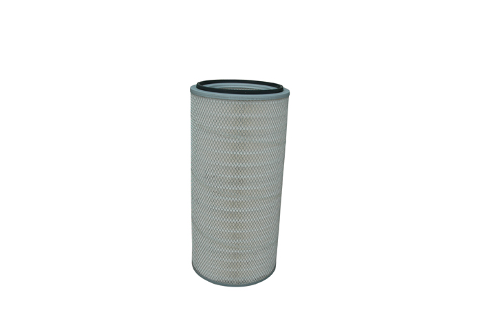 Nano fiber air filter cartridge for dust collector