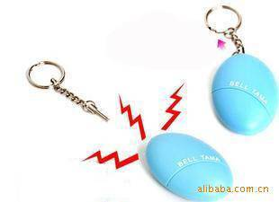 Promotional Cute Personal Alarm,with keychain