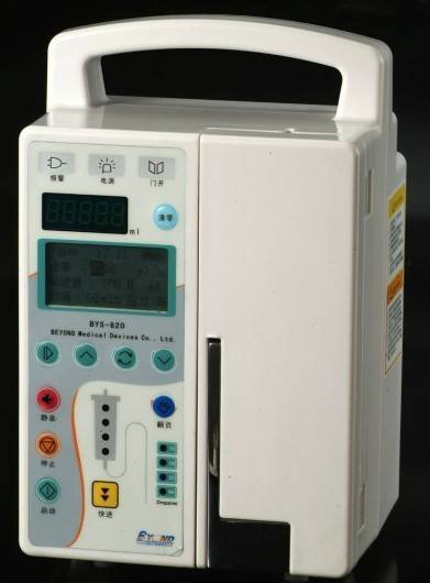 infusion pump with CE and ISO