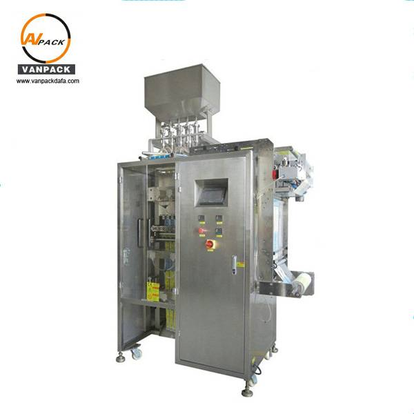 Multi Lanes Ice Pop Packing Machine