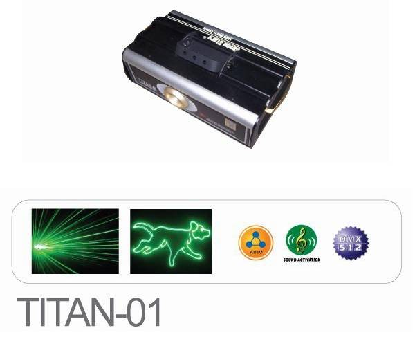 Laser Stage Light - Laser Scanner / Galvos - TITAN-01