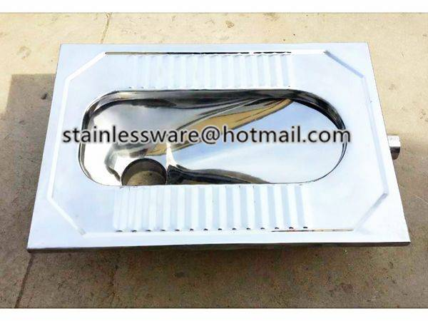 Popular Stainless Steel Squatting Pan Toilet Wc Nyd-003