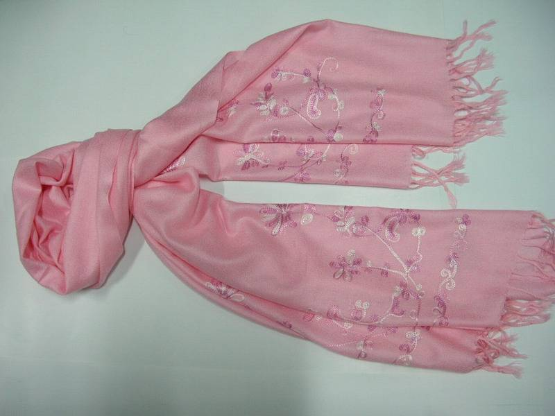EMBROIDERY SHAWL