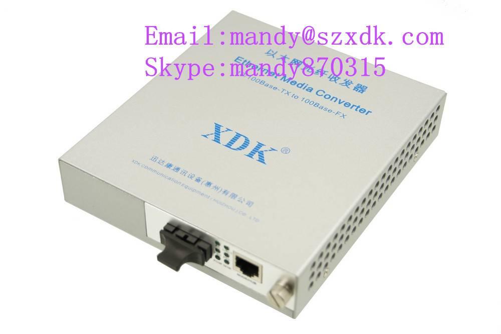 Single mode &Single core fiber 10/100Mbps media converter