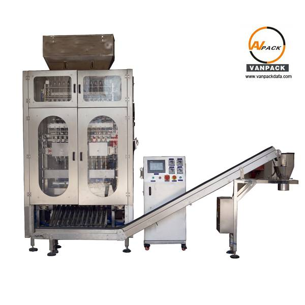 12 Lanes Stick Packing Machine For Granule