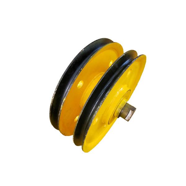 Trolley Sheaves, Crane Pulley Wheel, Steel Wire Rope Sheave Pulley Wheel or Pulley Block