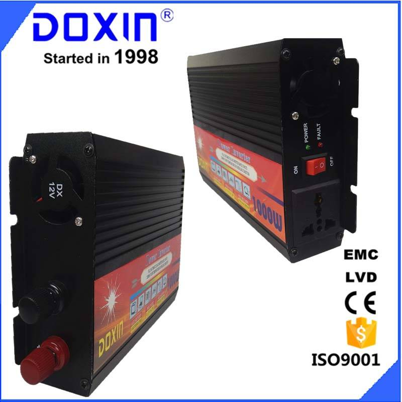 DC to AC 12v 220v 1000W Solar Power Inverter with High capacity Modified Sine Wave Inverter