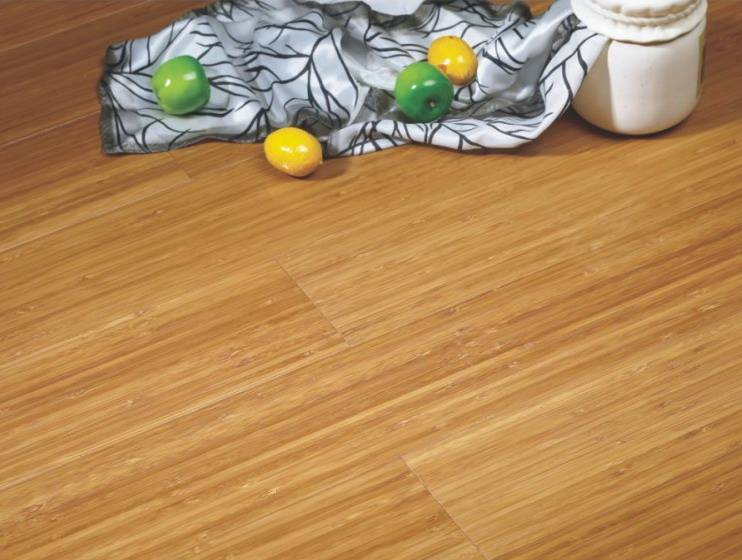 carbonized color horizontal environmental bamboo flooring from China supplier