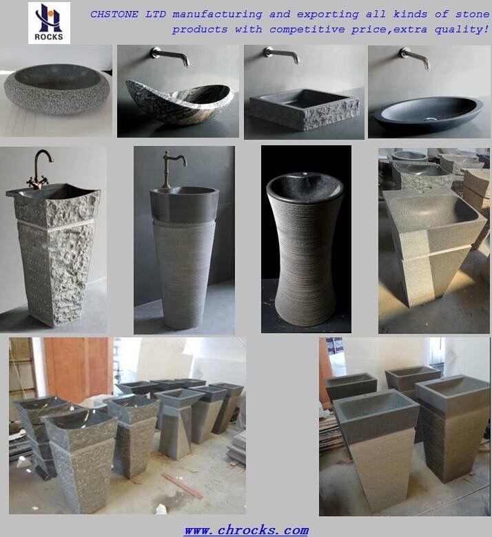 Pedestal Sinks,Granite Pedestal Bath Sinks,Bathroom Wash Basin,Marblr Pedestal Sink.Onyx Sinks.
