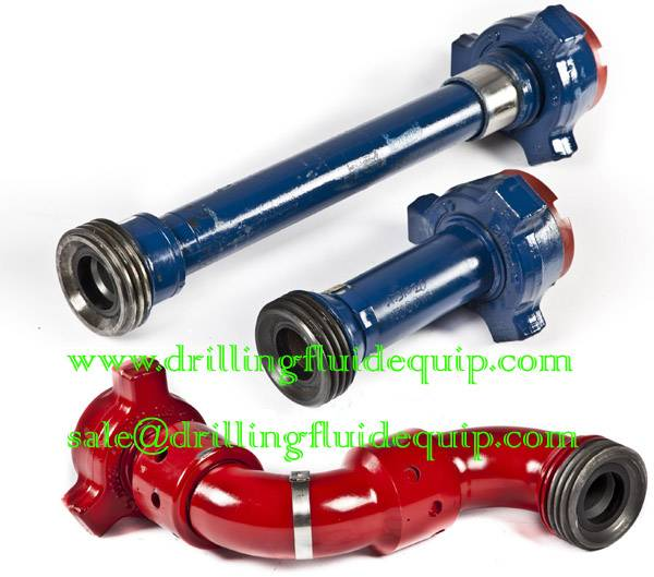 Pup Joint Steel Hose Loops Swivel Joint Integral Fittings