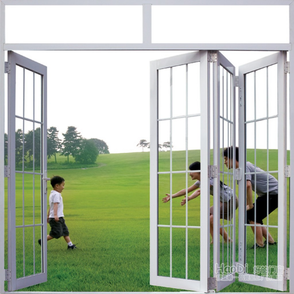 Hot sale customized upvc folding doors