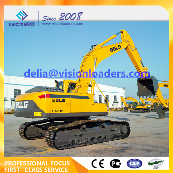 SDLG LG6250E Hydraulic Excavator E6250F Crawler for sale