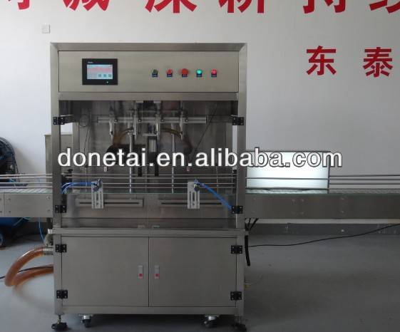 Safflower oil filling machine