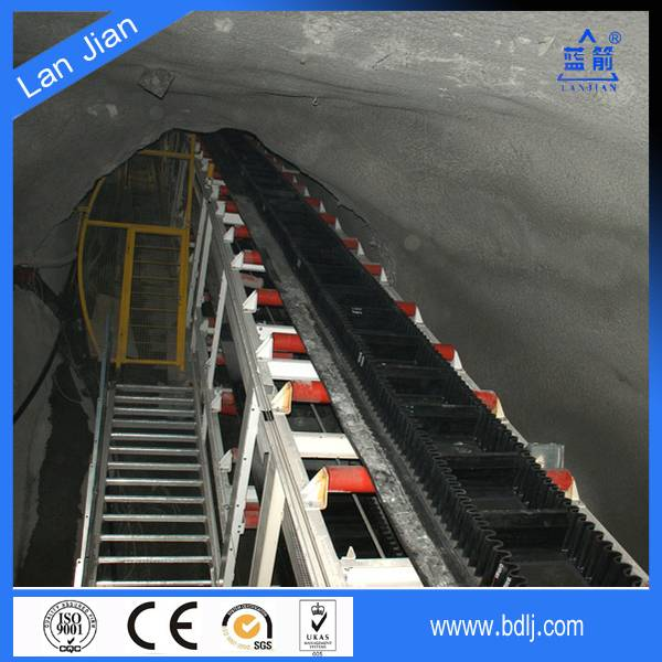 nn canvas heavy duty angle inclining(high inclined) vertical conveyor belt