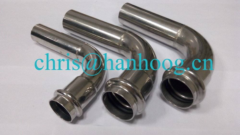 stainless steel 90E/B elbow