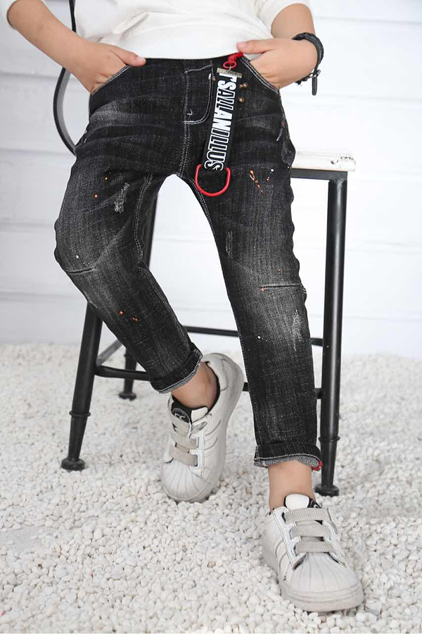 Ripped Jeans for Boys Chinese Style OEM Manufacture