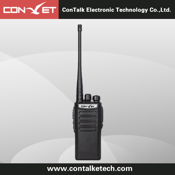 Contalketech Ctet-282 Analog Two Way Radio 6W UHF 400-470 MHz with 16 Channel ham Radio