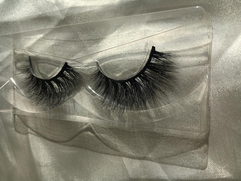 Private label Custom Eyelash Packaging ,100% Real mink fur 3D Mink Eyelashes Strips