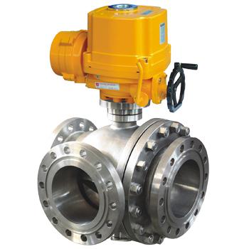 3 Way Titanium ball valve
