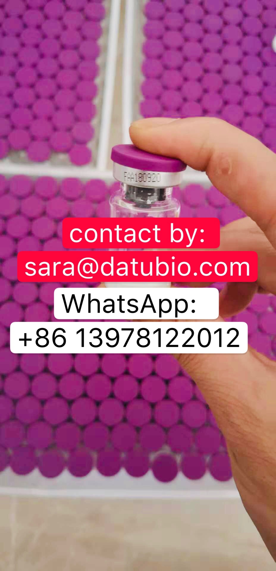 99% Purity Sermorelin Acetate Peptide GRF 1-29 Growth Hormone Releasing Hormone (GHRH) 2mg/5mg