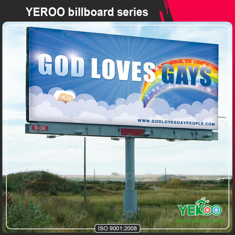 Custom double sided flex banner advertising billboard
