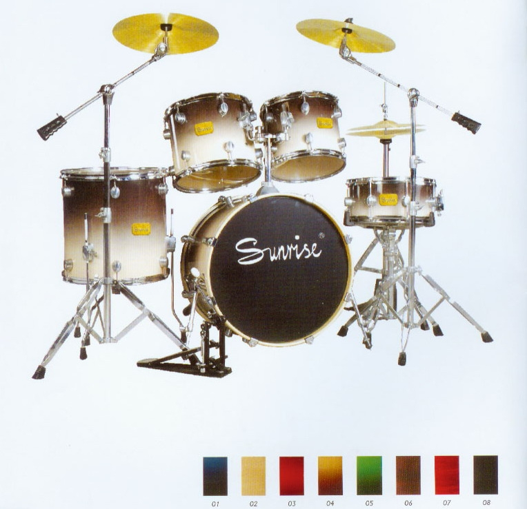 5-pcs PVC Drum Set
