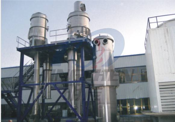 Double Effect Forced Circulation Evaporator