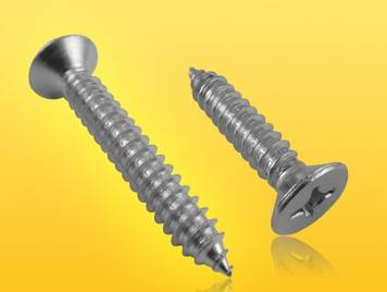 DIN7982 Cross Recessed Countersunk Head Tapping Screws