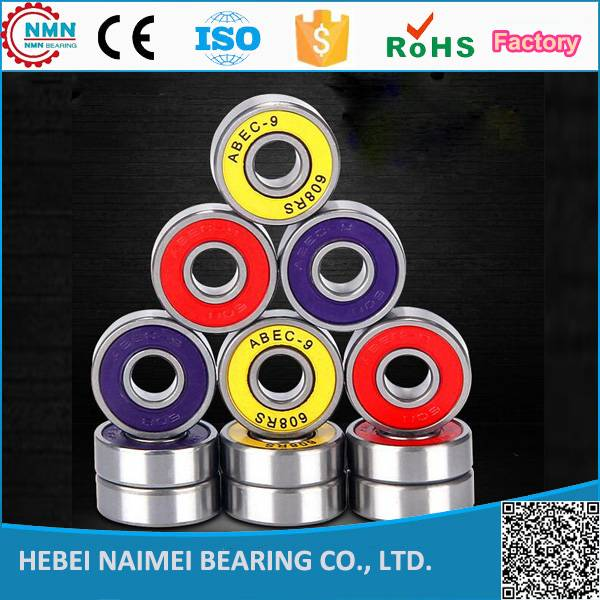 China Factory hot sale 608zz Skateboard Bearings