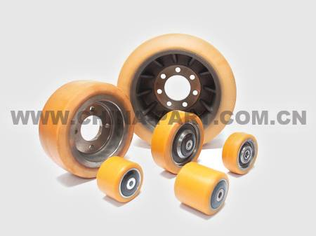 Forklift Parts, PU Wheels