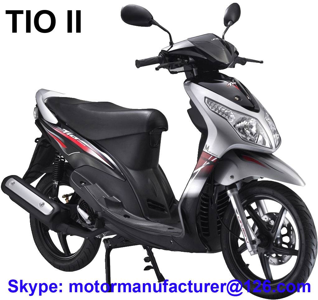 TIO II Scooter JNEN Motor Popular Design 2016 Model Gasoline Scooter 100CC/125CC CDI/EFI EEC/EPA