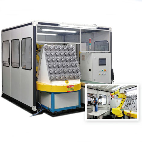 Robot Deburring and Polishing Unit System