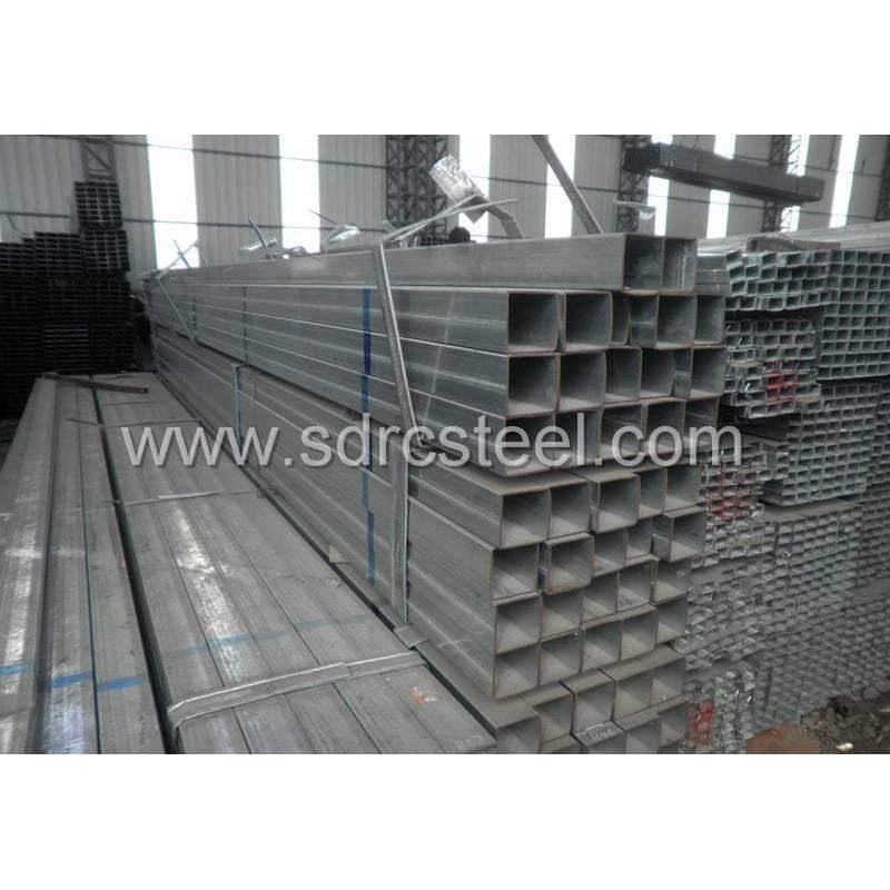 Hot-DIP Galvanized Square Steel Pipe