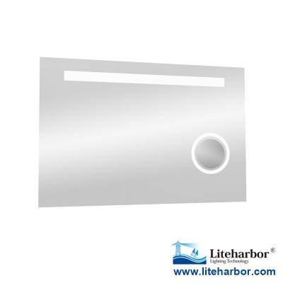 Frameless LED Bathroom Magnifying Mirror Light