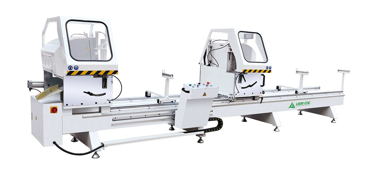 Aluminum windows and doors cutting machine with digital display LJZ2X-500x4200