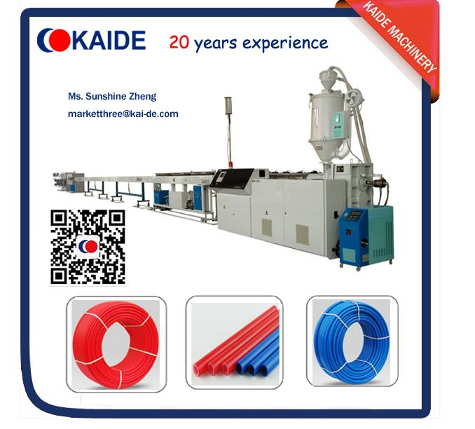 Cross-linking PEX Pipe production line KAIDE Since 1997