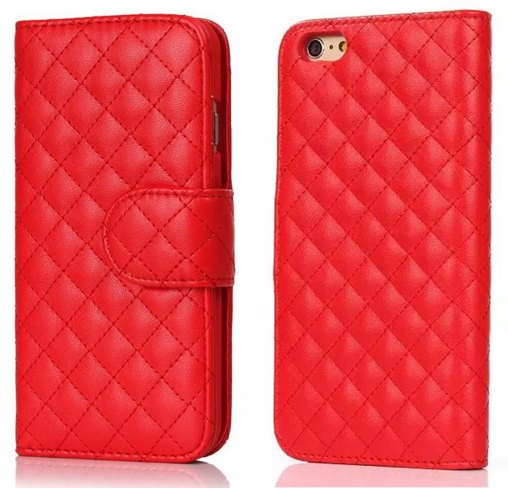 IP6S923 Fashion Book Style Leather Case for iPhone 6/6s