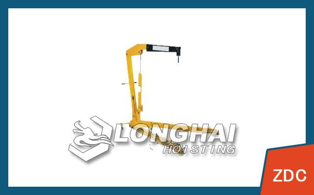 Electric small crane prices, car electric small crane, vehicle cantilever crane