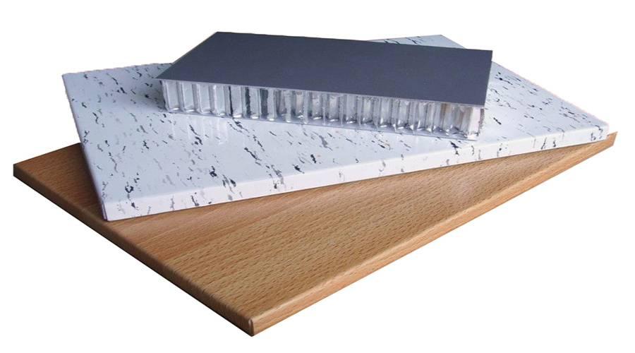 Imitation Wood/Stone Grain Aluminum Honeycomb Panel For Decoration
