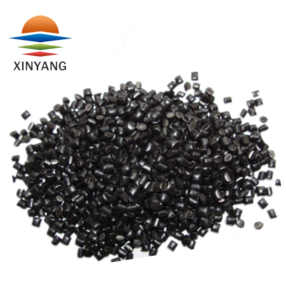 High brightness fine and pure texture recycled carbon black plastic masterbatches for Internal wall