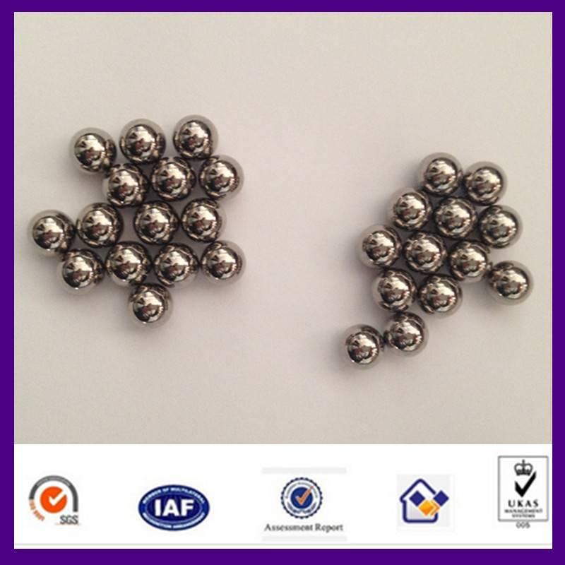 chrome ball/ large size chrome ball / HRC60-66 / high precision steel ball