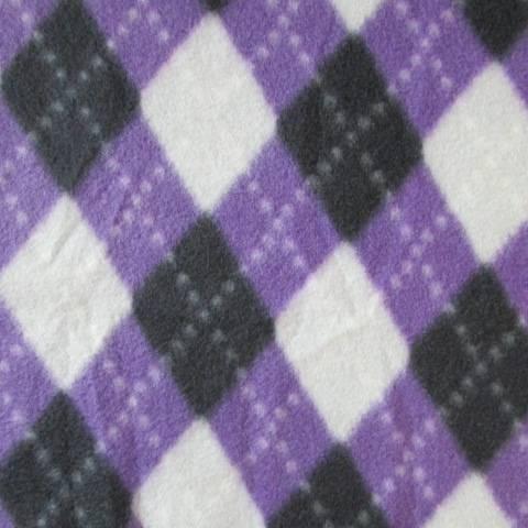 100 polyester Fleece Fabric Printed