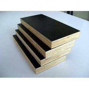 18mm WBP black film faced plywood for construction usage